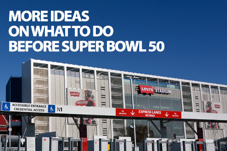 More Ideas on what to do before super bowl 50